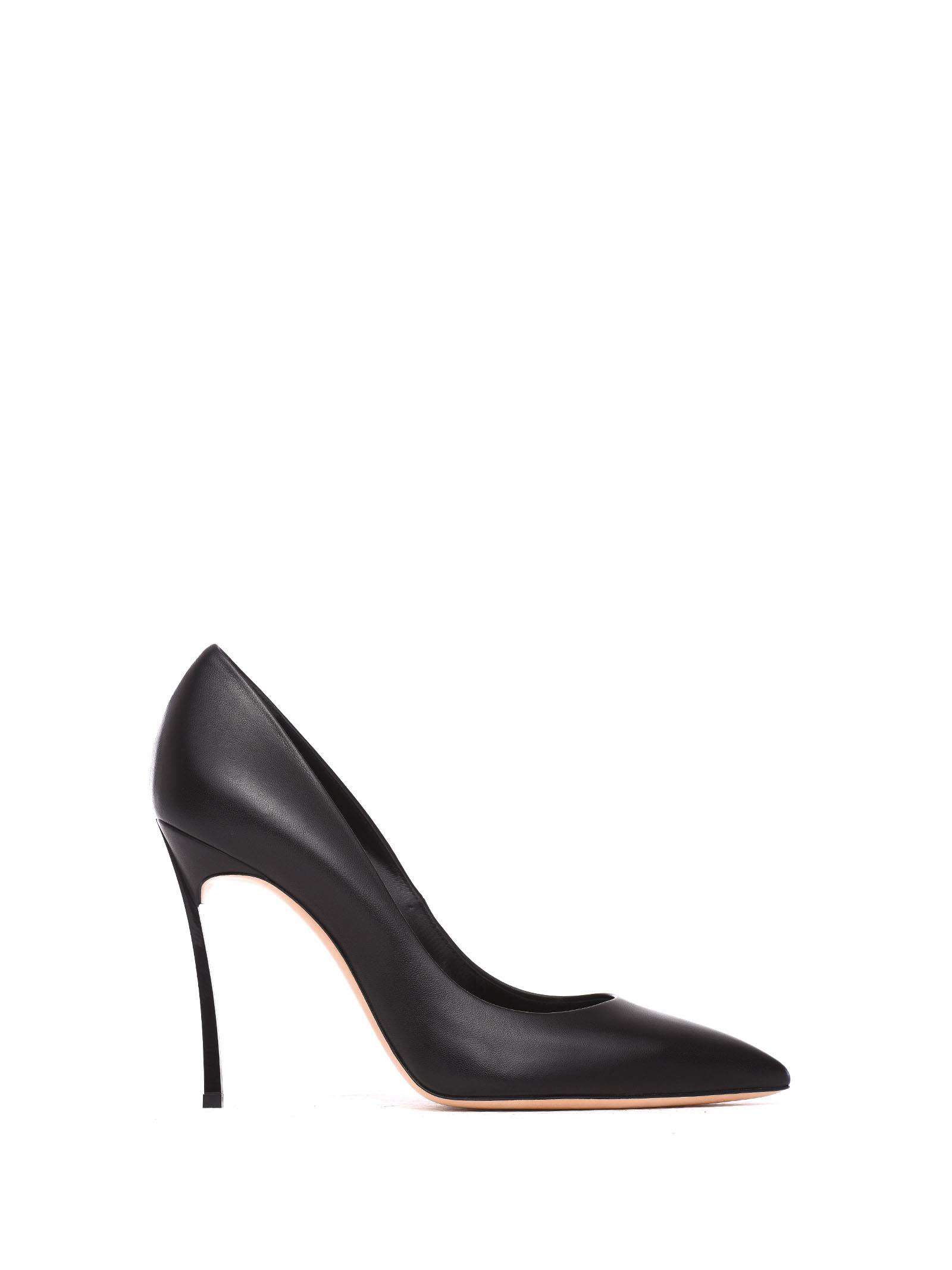 Casadei Pumps In Black Leather