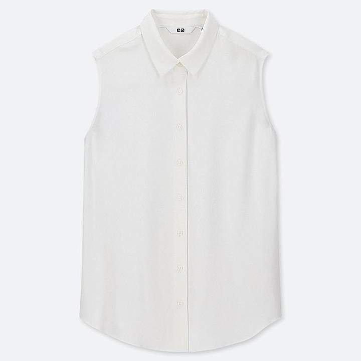 Women's Rayon Sleeveless Blouse