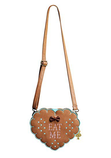 Amazon.com: Alice In Wonderland Eat Me Cross Body Purse Standard: Clothing