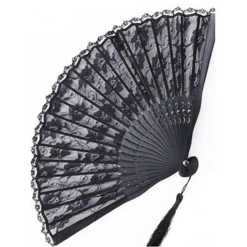 Black Palace Gothic Fan - Attitude Holland