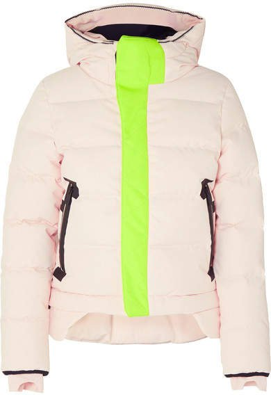 Nano Hooded Quilted Shell Down Coat - Blush