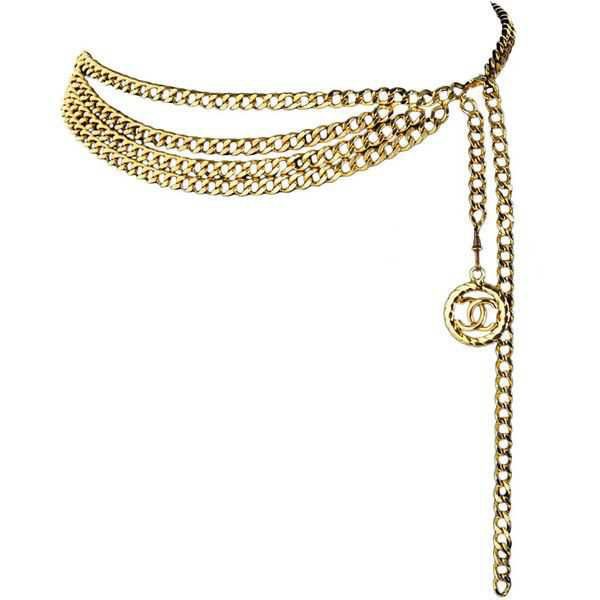 gold chain belts - Google Search