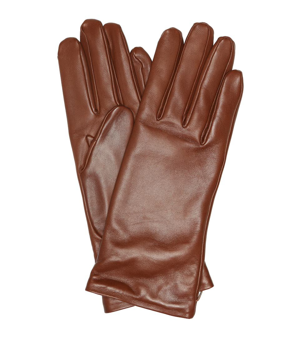 Gabriela Hearst Leather Gloves