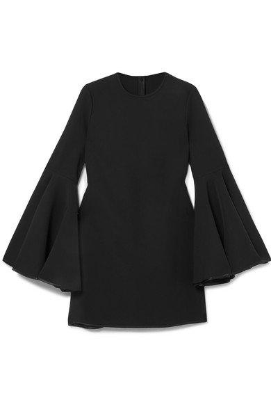 Ellery | Dogma satin-trimmed cady mini dress | NET-A-PORTER.COM