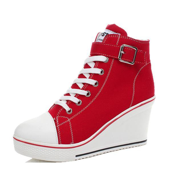 Red Wedge Converse