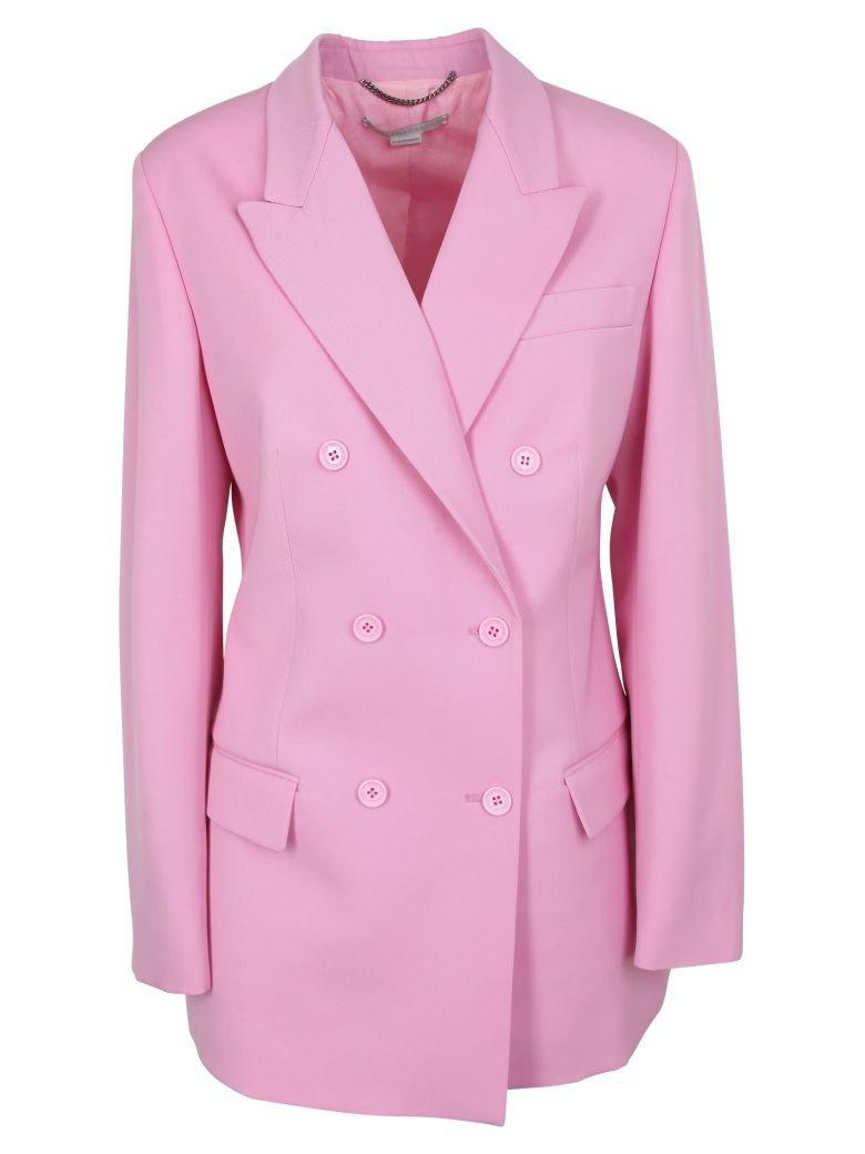 Stella McCartney Stella Mccartney Double-breasted Blazer - Tulip Pink - 10788987 | italist