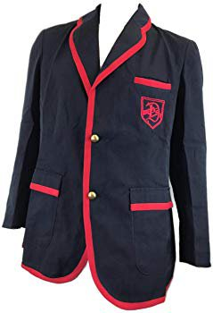 Amazon.com: Glee Darlton Warblers Academy Suit Uniform Costume Set (S): Clothing