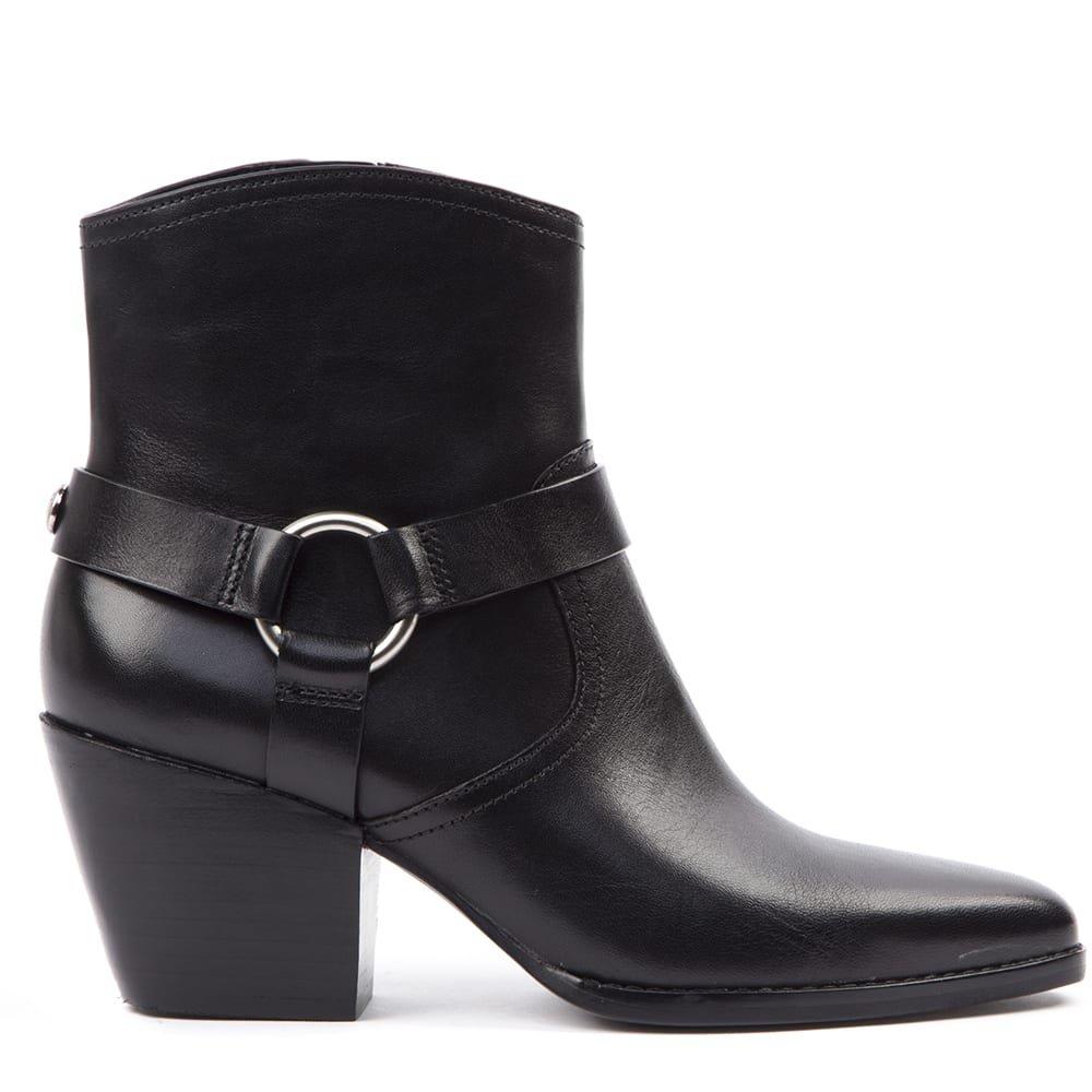 MICHAEL Michael Kors Black Leather Boots