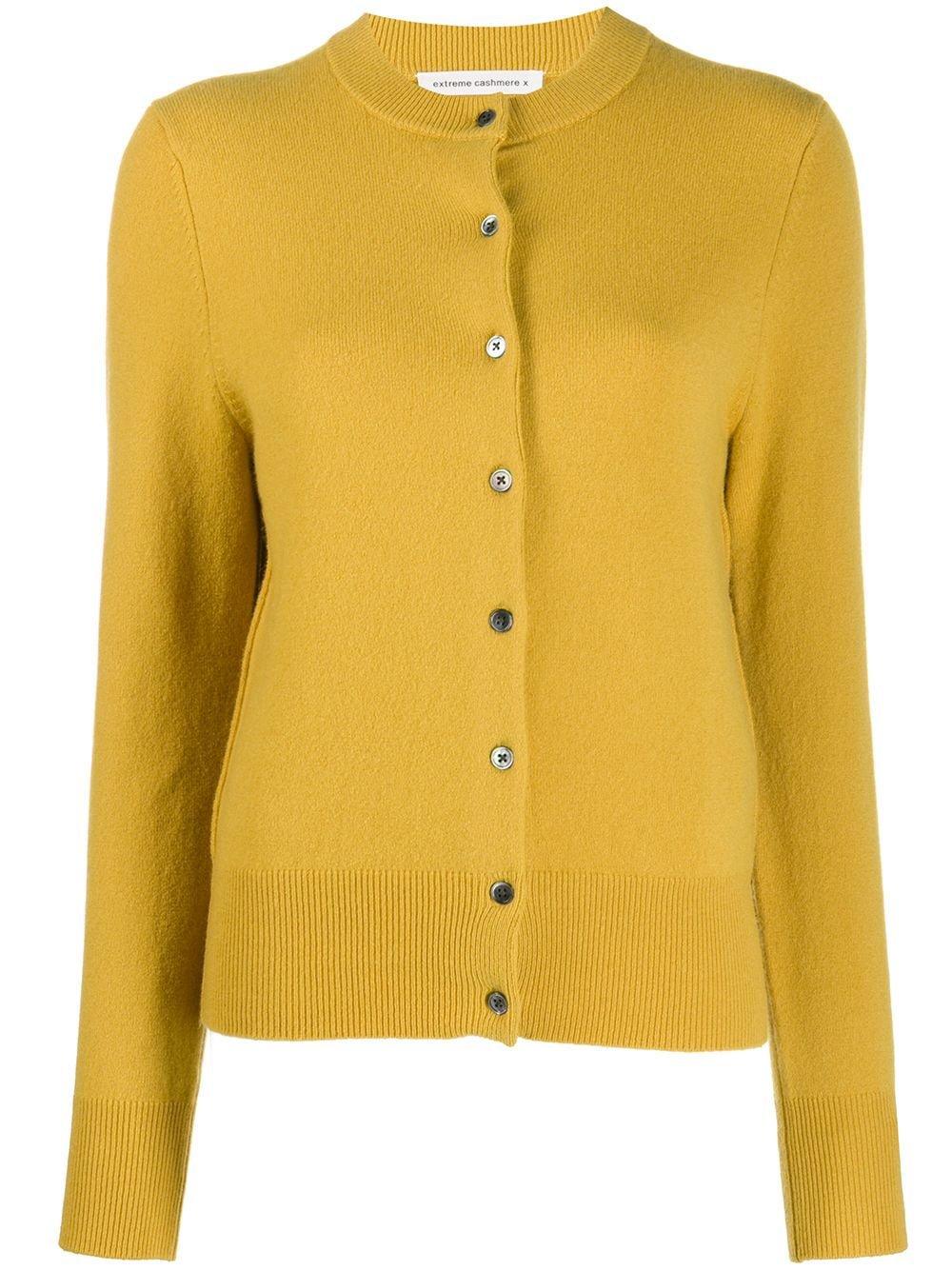 Extreme Cashmere Long Sleeve Knit Cardigan   Farfetch.com