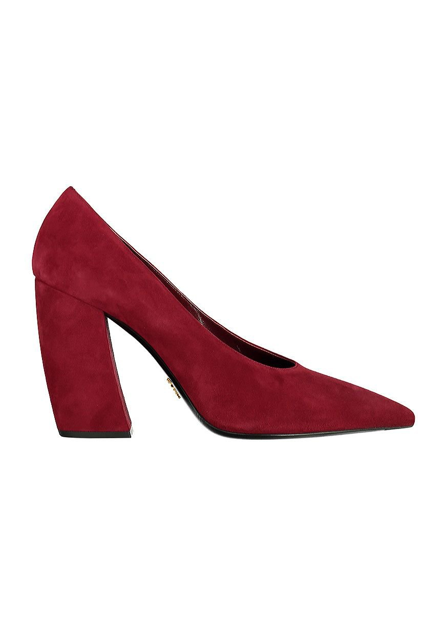Prada Suede Ponty-toe Pumps