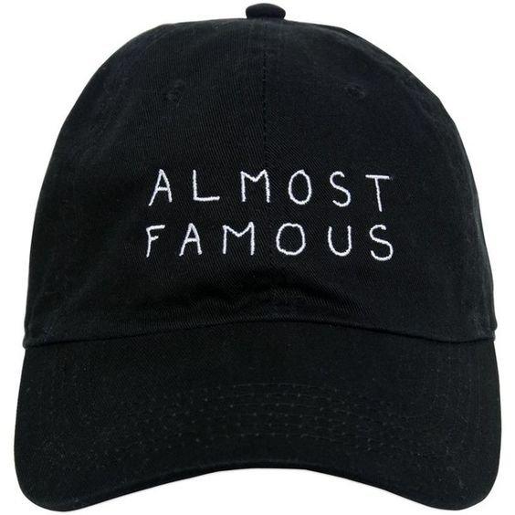 Nasaseasons Women Almost Famous Embroidered Baseball Hat