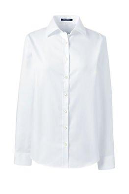 School Uniform Women's Regular Long Sleeve Ultimate Dress Shirt from Lands' End