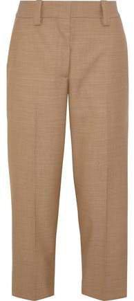 Trea Cropped Wool Straight-leg Pants