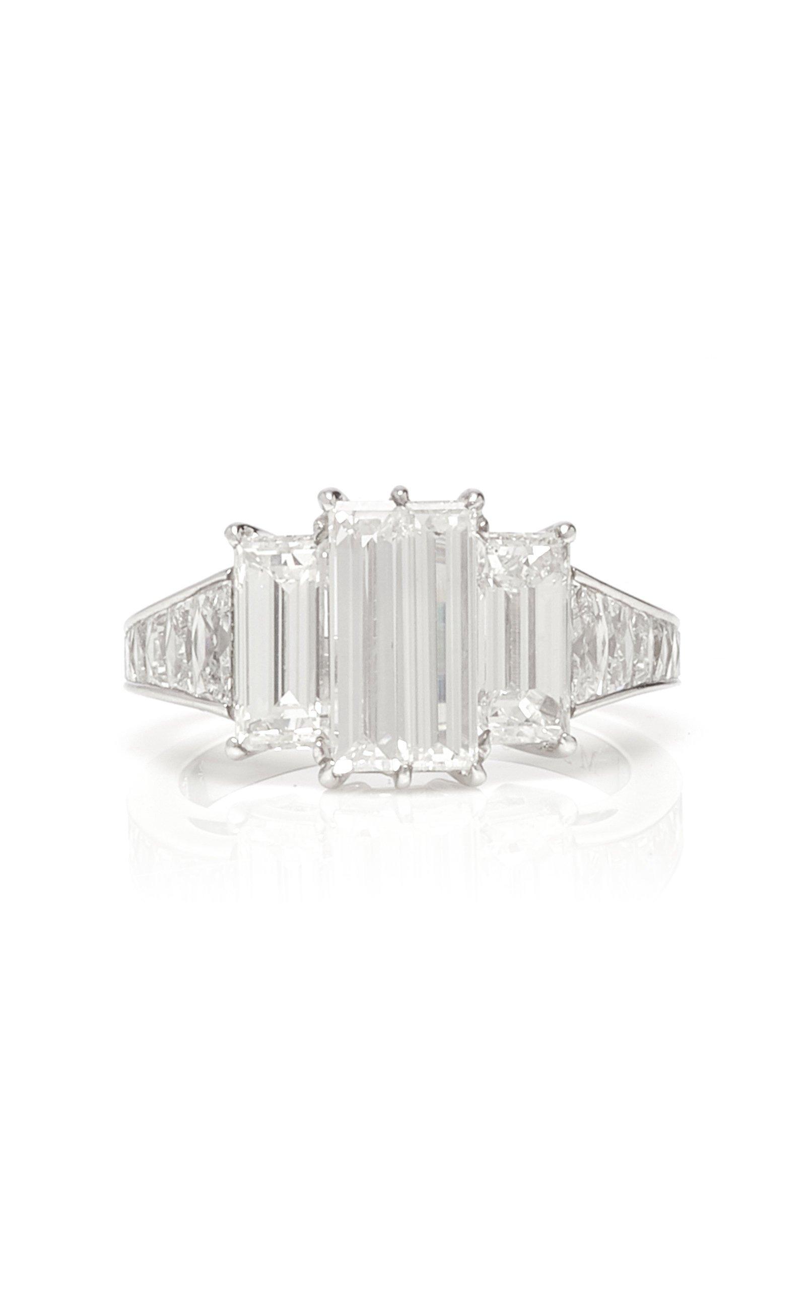 Martin Katz 4-Stone Baguette Diamond Ring