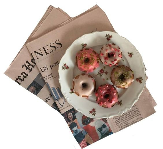 news and donuts