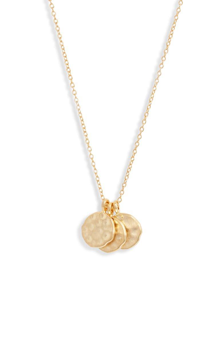 Set & Stones Weslie Cluster Disc Necklace | Nordstrom