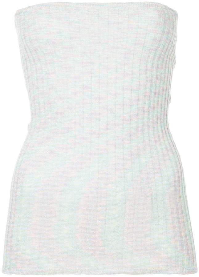 Georgia Alice Boob Tube knitted top