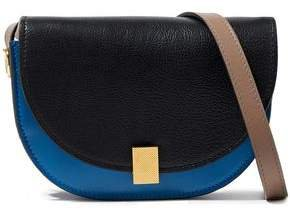 Half Moon Box Nano Leather Shoulder Bag