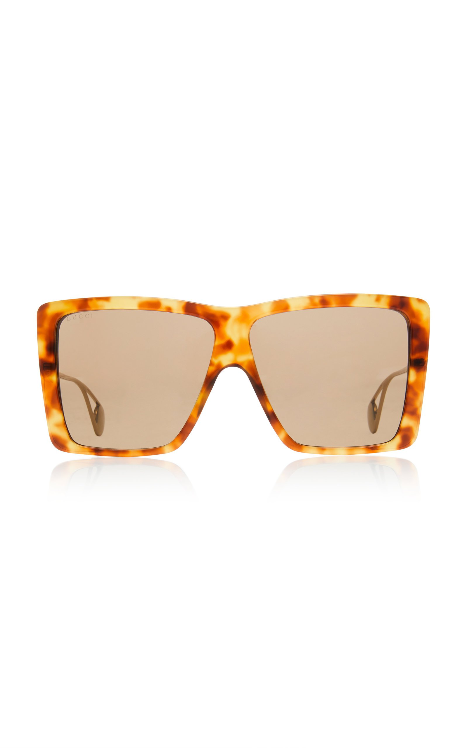 Gucci Evolution Oversized Square-Frame Sunglasses