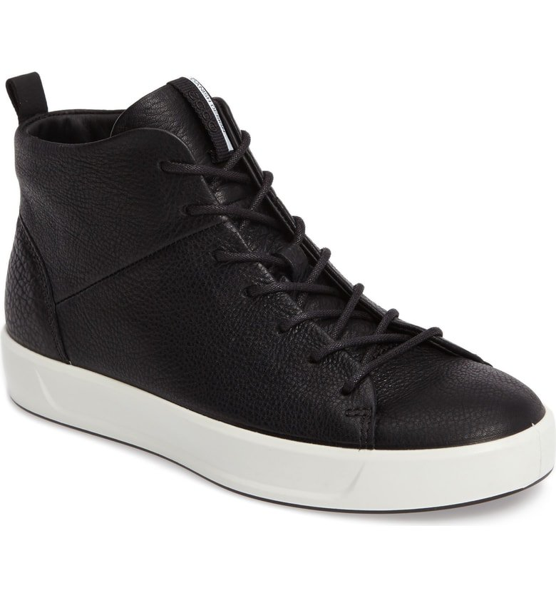 ECCO Soft 8 High Top Sneaker (Women) | Nordstrom
