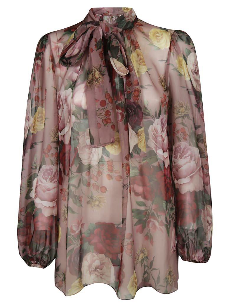 Dolce & Gabbana Dolce & Gabbana Floral Blouse - A Rose Barocche - 11040876 | italist