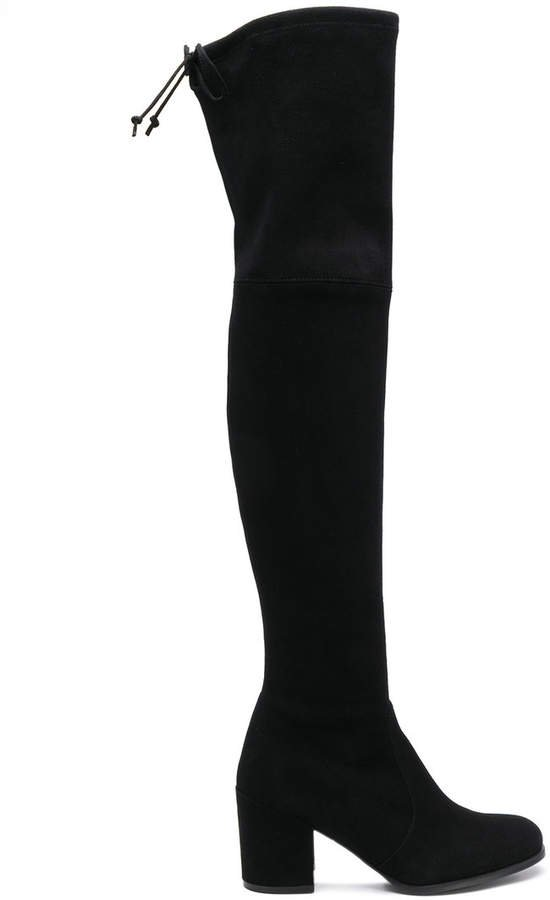 Tieland thigh length boots