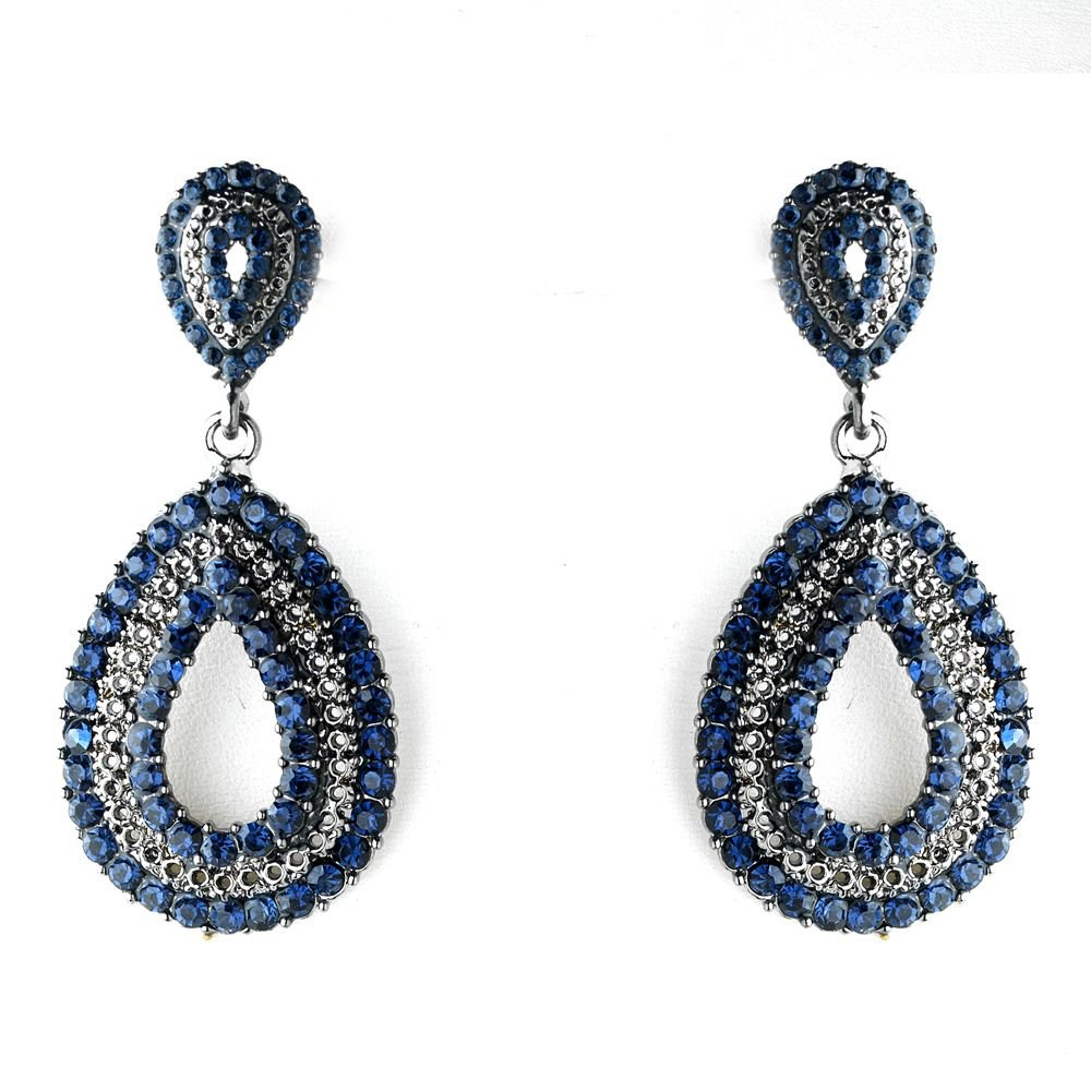 Navy Blue Earings