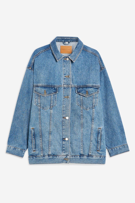Dad Oversized Denim Jacket - Jackets & Coats - Clothing - Topshop USA