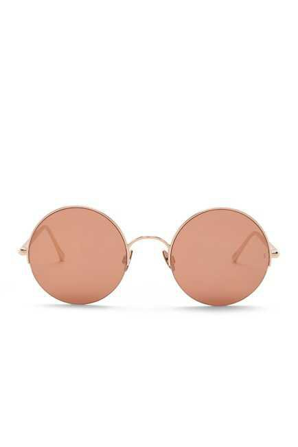 SUNDAY SOMEWHERE | Raine 53mm Round Sunglasses | Nordstrom Rack