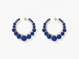 dark blue earring - Google Search