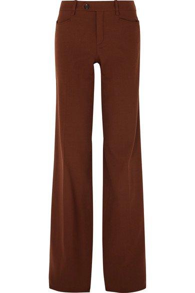 Chloé | Wool-blend wide-leg pants | NET-A-PORTER.COM