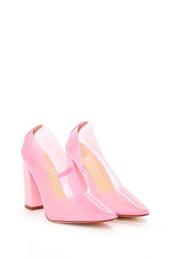 Barbie Girl Perspex Court Heel   Shop Clothes at Nasty Gal!