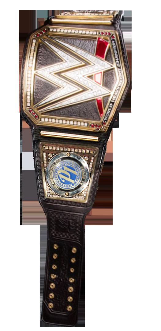 WWE Championship render (w/AJ Styles sideplates) by BadLuckShinska on DeviantArt