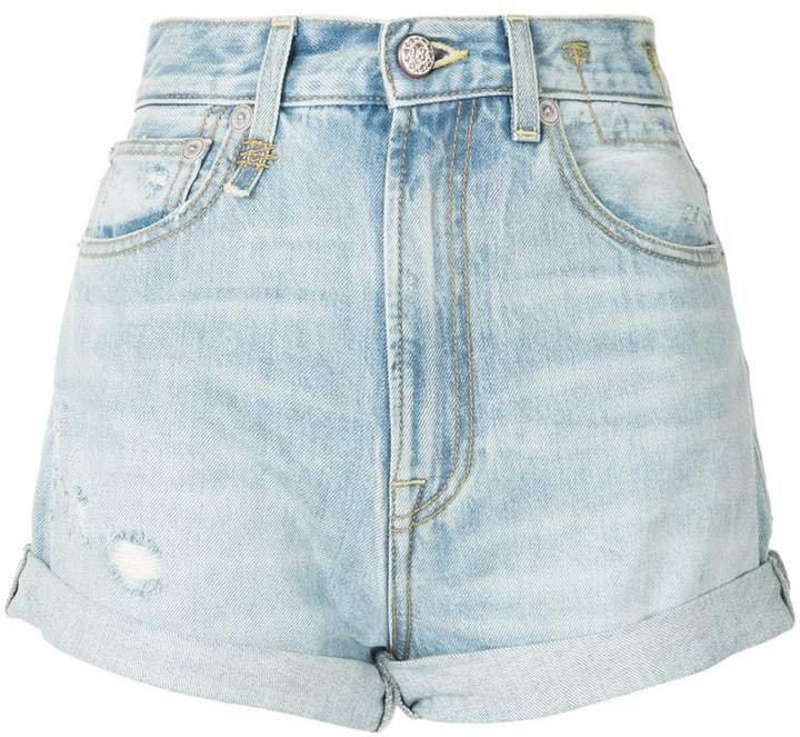 high rise hailey shorts