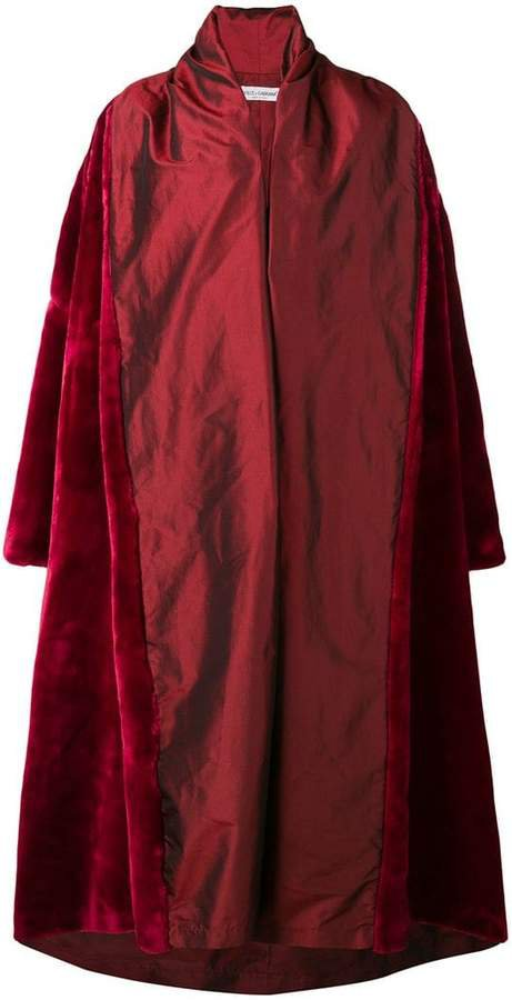 Pre-Owned 1990 oversized coat