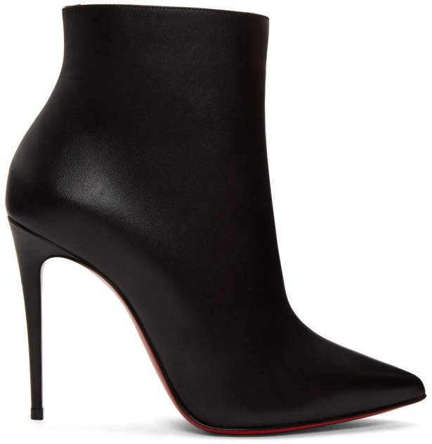 Black So Kate Ankle Boots