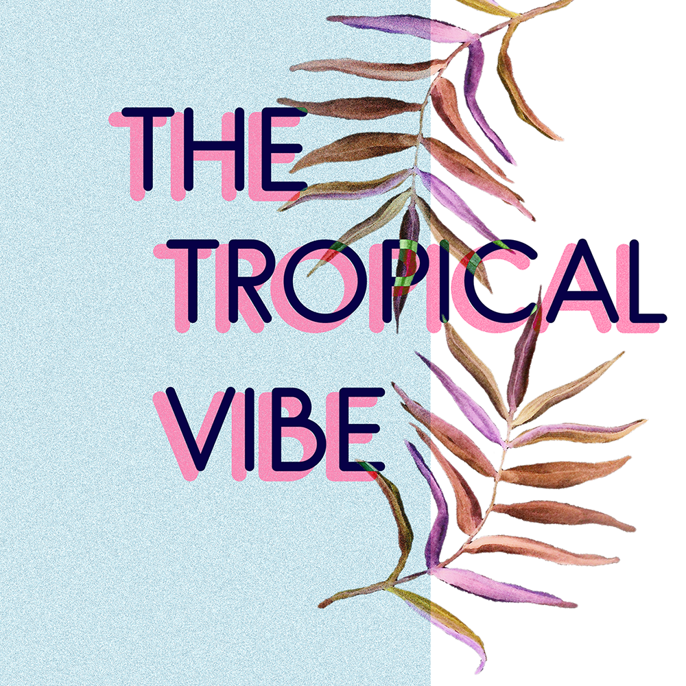 The Tropical Vibe - Free Watercolor Elements on Behance