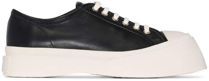 low-top chunky sneakers