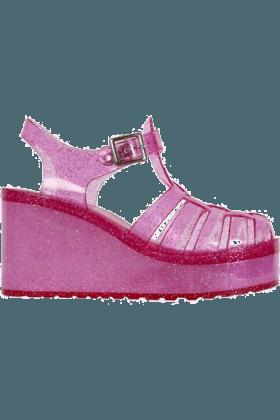 Platform Jelly Shoes