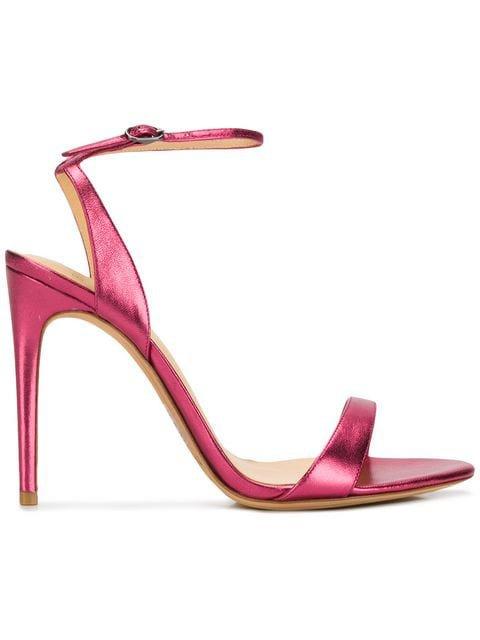 Alexandre Birman Willow 100 metallic sandals $516 - Buy Online SS19 - Quick Shipping, Price