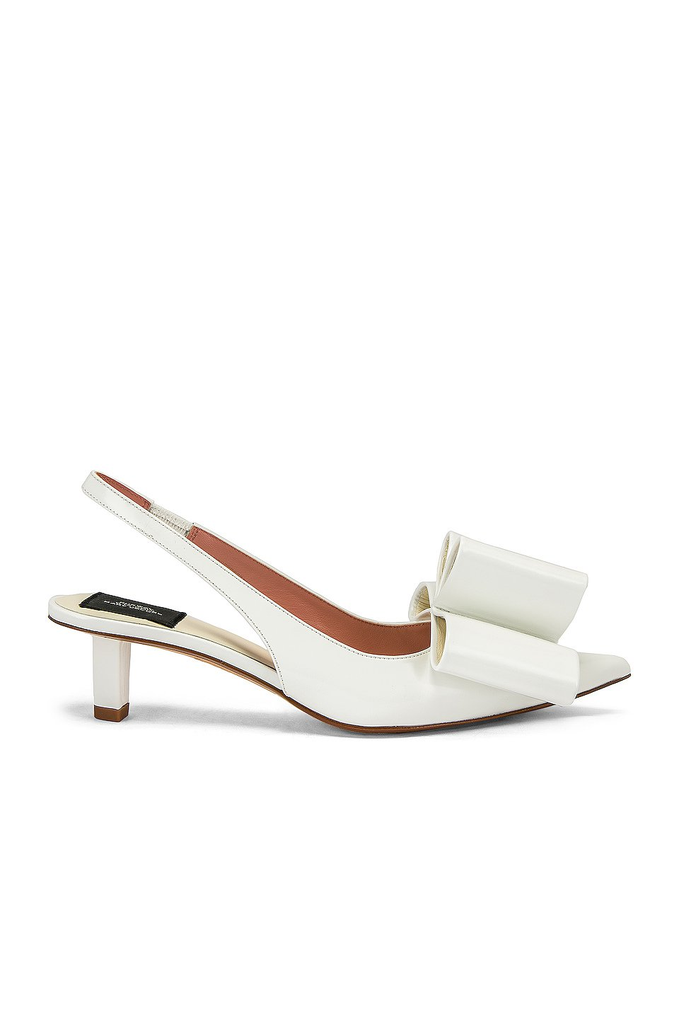 Bow Slingback Pump