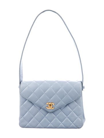Chanel Quilted CC Shoulder Bag - Handbags - CHA248739 | The RealReal