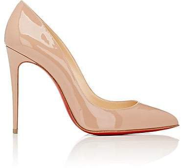 Women's Pigalle Follies Patent Leather Pumps - Nude