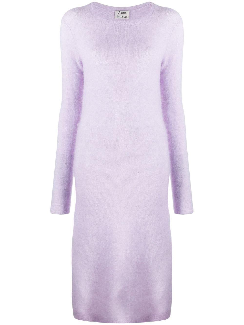 Acne Studios Knitted Midi Dress - Farfetch