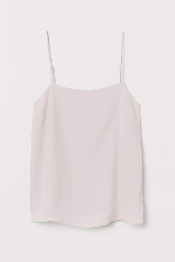 Creped Camisole Top - Pink
