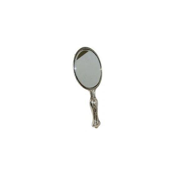 Sterling Nouveau Hand Mirror