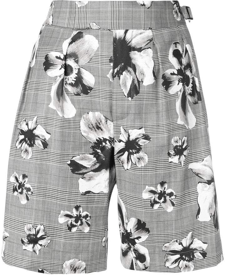 prince of wales floral shorts