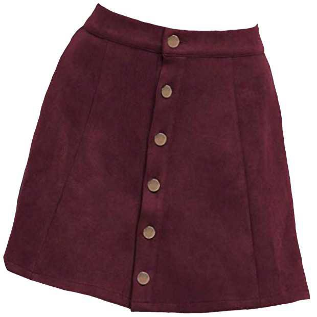 Marroon Skirt