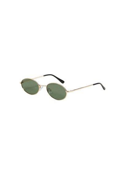 MANGO Oval sunglasses