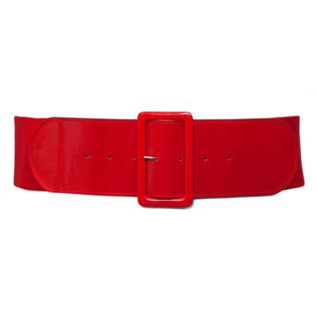eVogues Apparel - eVogues Plus Size Wide Patent Leather Fashion Belt Red - Walmart.com
